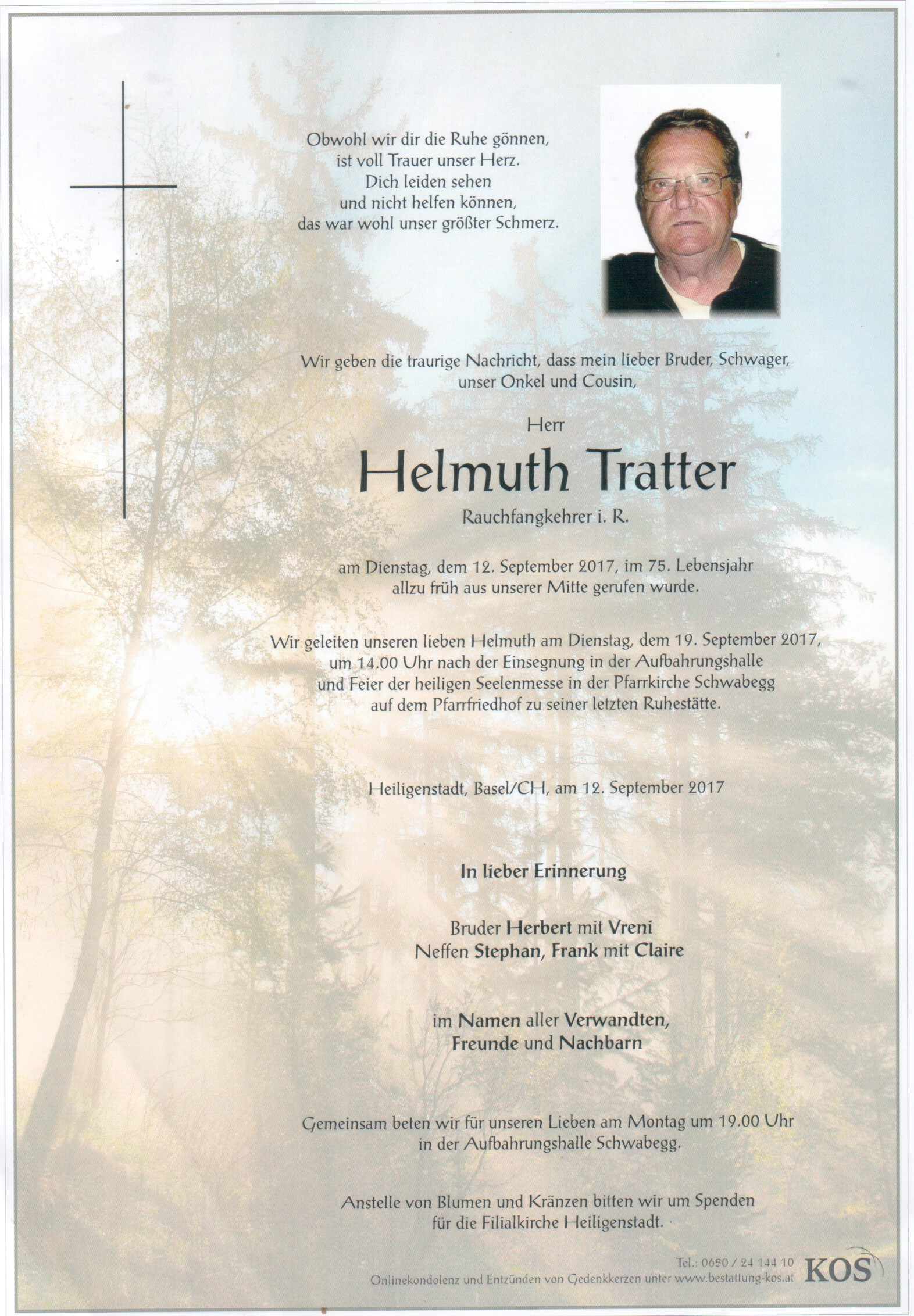 Tratter Helmuth
